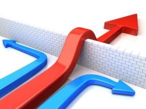 Muro y flecha