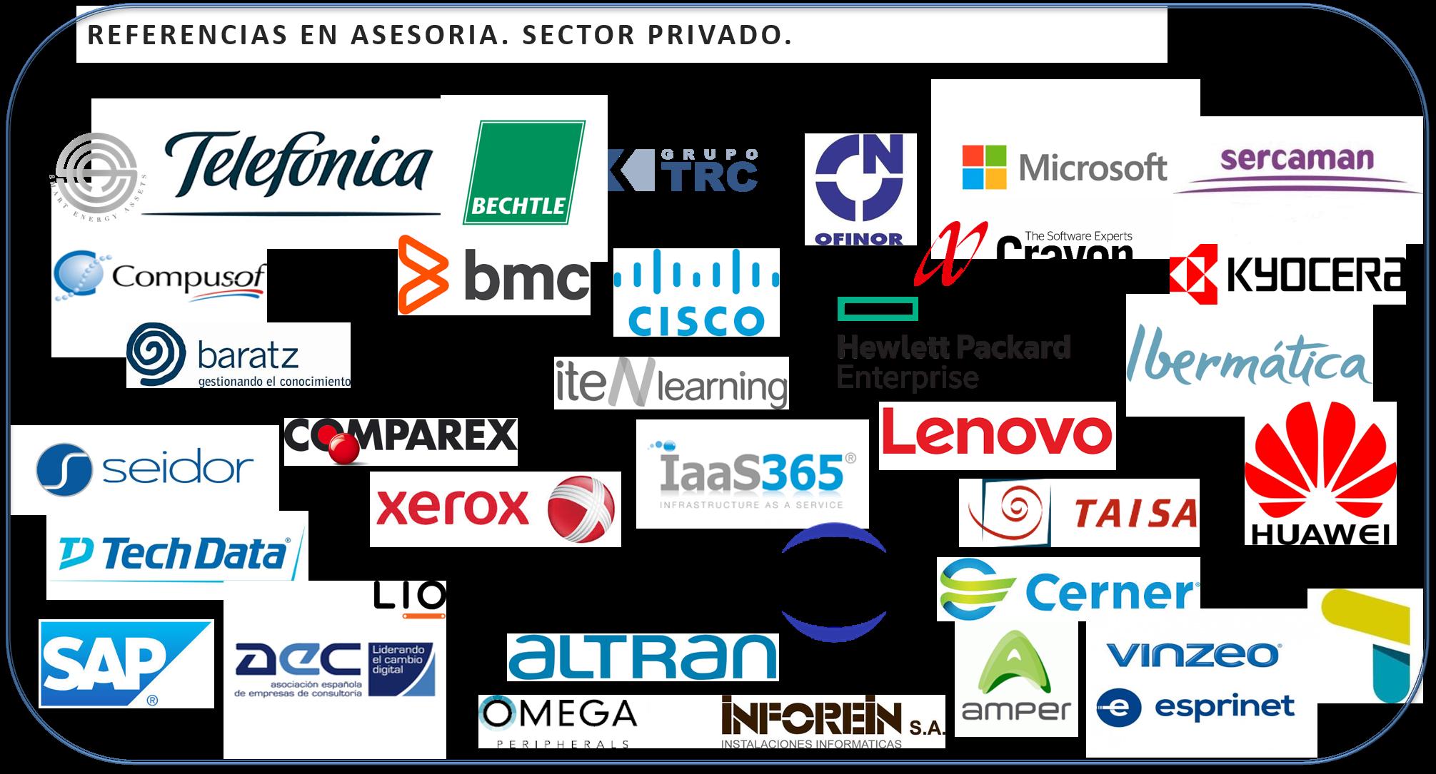 Referencias Sector Privado.